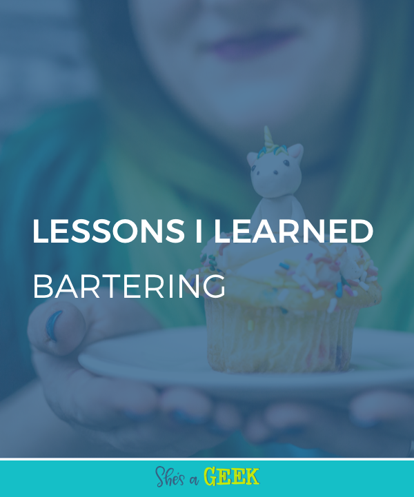 lessons I learned bartering