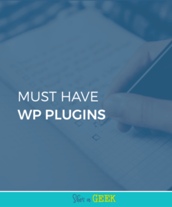 Must-Have Plugins