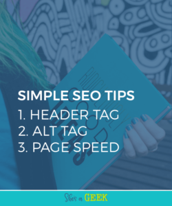 3 Simple SEO Tips